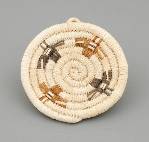 Miniature Hopi Plaque Basket