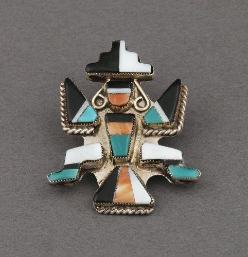Old Zuni Knifewing Pin