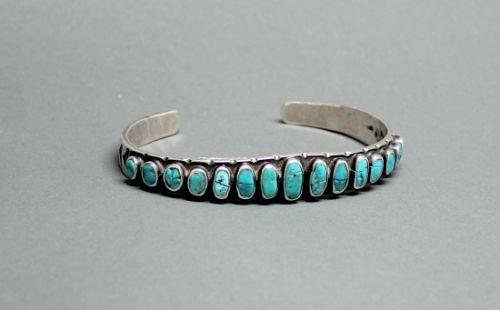 Classic Ingot Navajo Row Bracelet