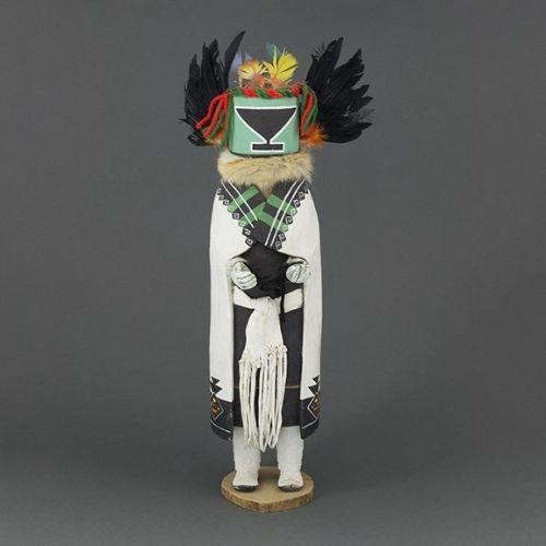 Large Vintage Hopi Crow Mother Katsina