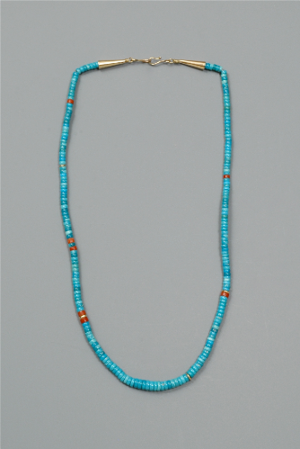 Turquoise Necklace by Terry and Joe Reano