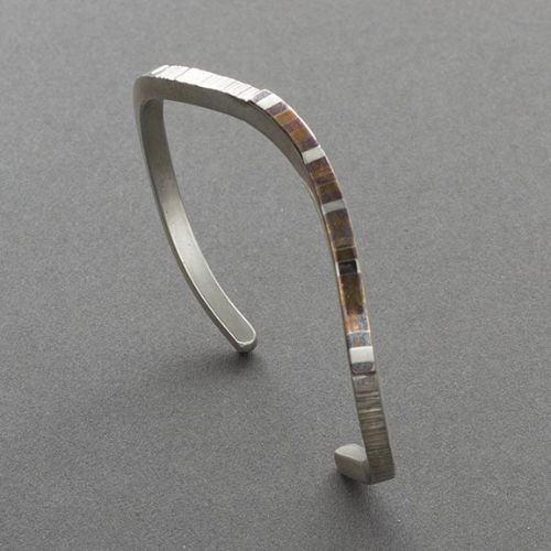 Charlyn Reano Narrow Bracelet of Silver