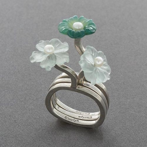 Charlyn Reano Flower Rings