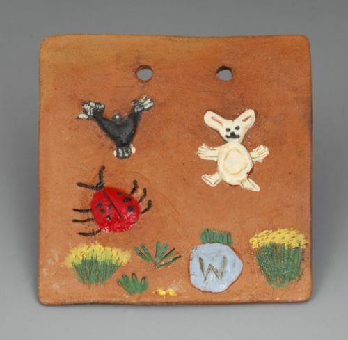Larrisena Manygoats Pottery Tile - Spring