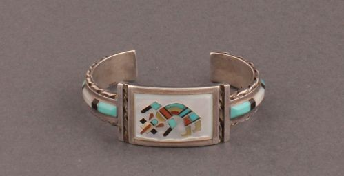 Florentine and Lela Panteah Rainbow Man Bracelet