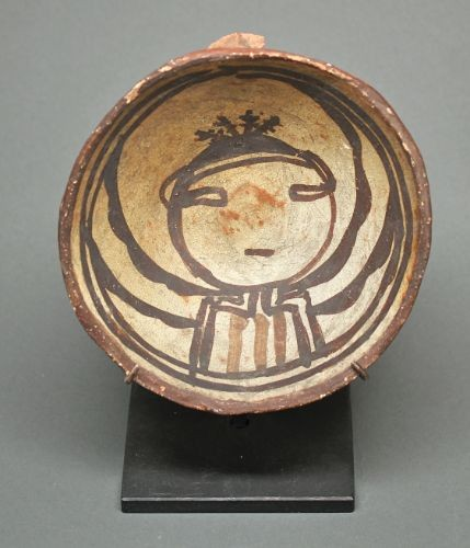 Historic Polacca Pottery Bowl from Wheeler Expedition
