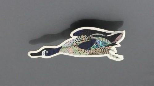 Dale Edaakie Pin - Audubon Blue Winged Teal
