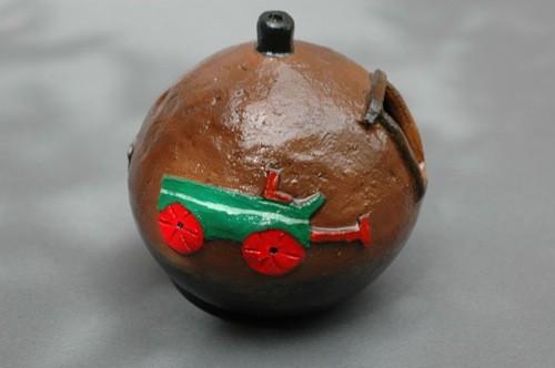 Elizabeth Manygoats Wagon Jar