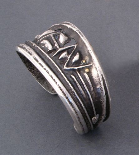 Charles Loloma Silver Bracelet