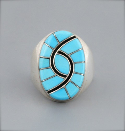 Amy Quandelacy Channel Inlay Ring