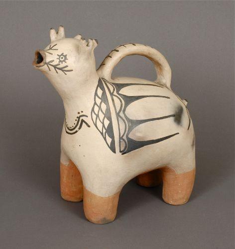 Historic Cochiti Pottery Animal