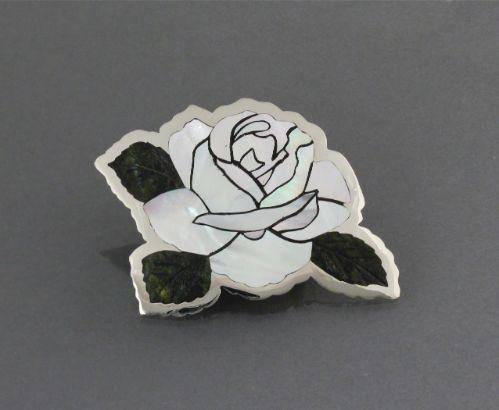 Dale Edaakie Pin - White Rose