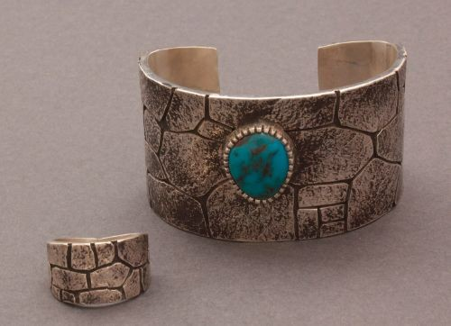 Kee Yazzie Chaco Canyon Bracelet