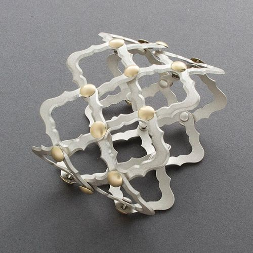 Maria Samora Quatrefoil Bracelet