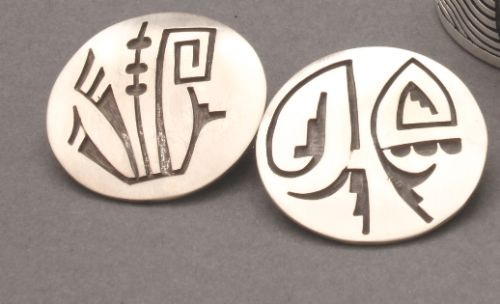 Andrew Saufkie Overlay Earrings