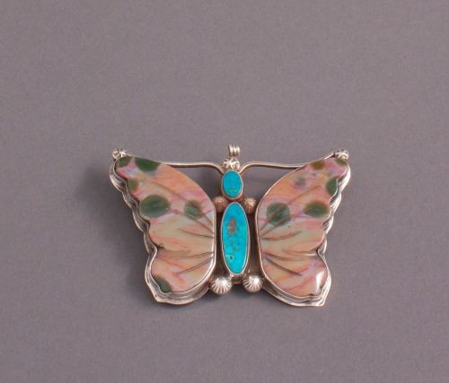 Greg Lewis Butterfly Pin Pendant