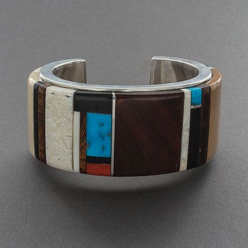 Edison Cummings Large Inlay Bracelet