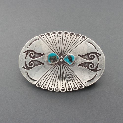 Large Navajo Buckle by Dan A. Jackson