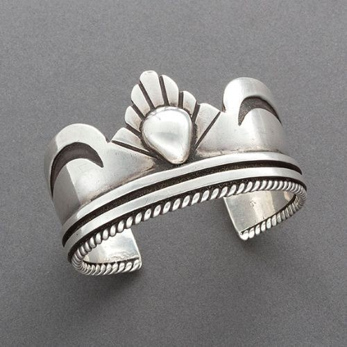 Lewis Lomay Bracelet of Silver