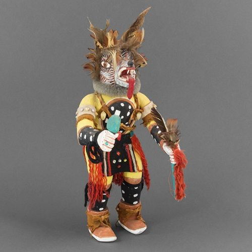 1950 Wolf Katsina from Hopi Villages