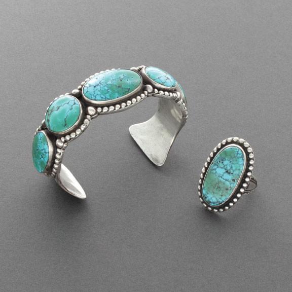 High Grade #8 Turquoise Bracelet