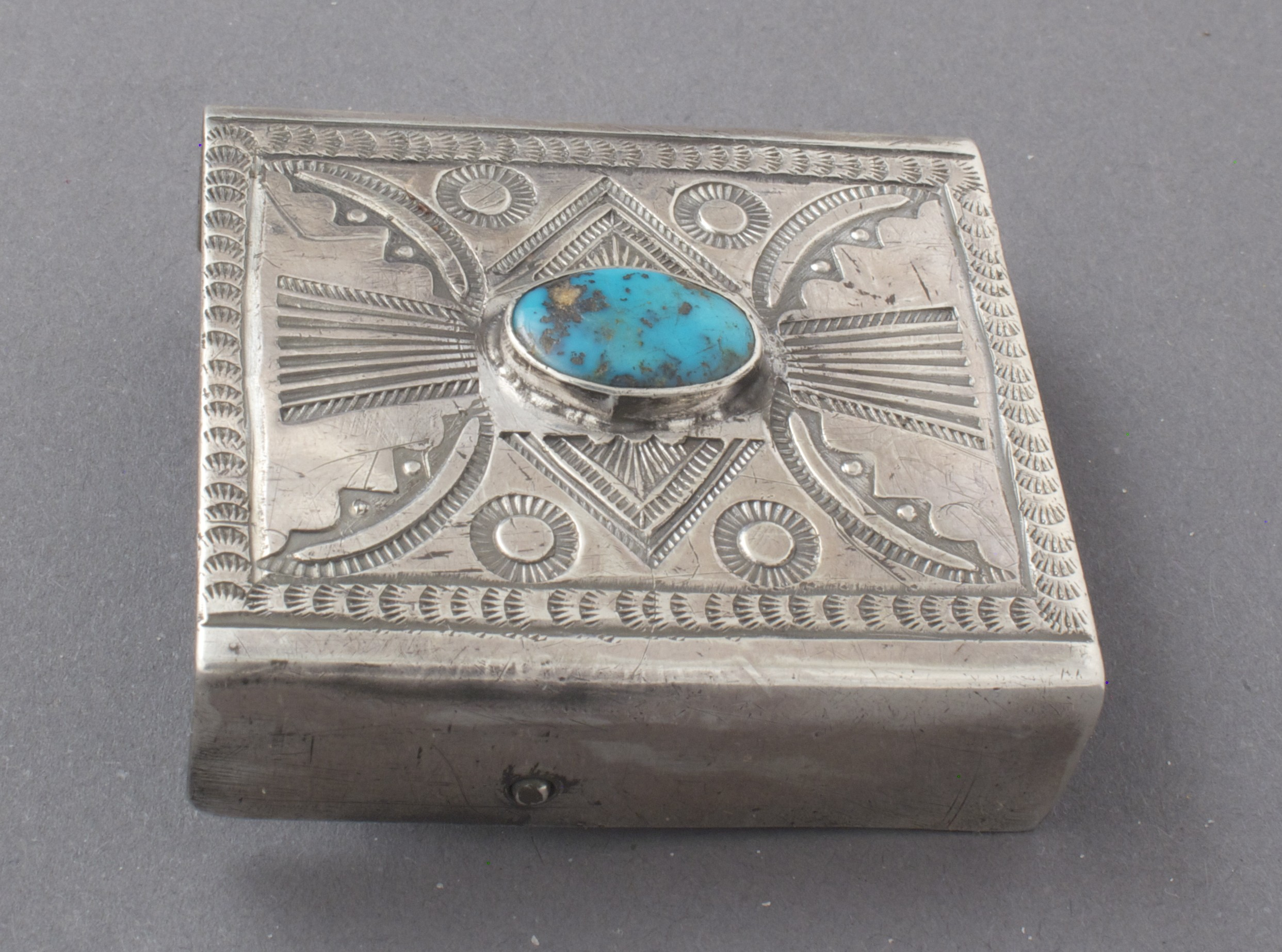 Austin Wilson Buckle with Turquoise
