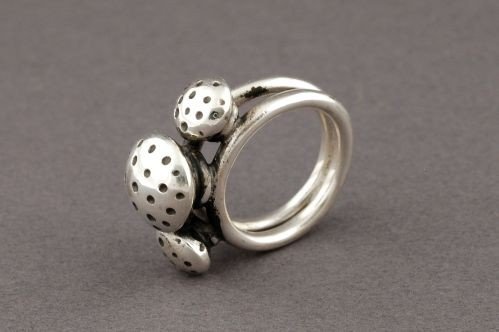 Tammy Nelson Silver Ring