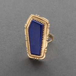 Leonard Platero Lapis and Gold Ring