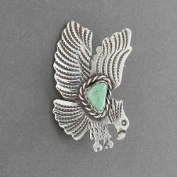 Albert Cleveland Navajo Eagle Pin