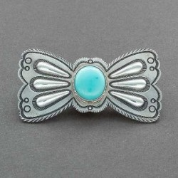 McKee Platero Brooch of Turquoise and Silver
