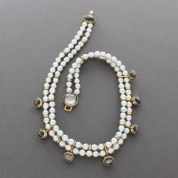 Pearl Necklace by Gail Bird and Yazzie Johnson