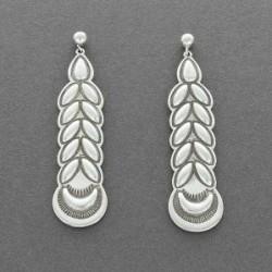 Dangle Silver Earrings by Edison Sandy Smith