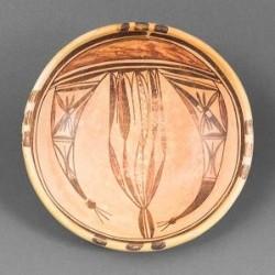 Nampeyo Bowl With Prayer Feathers