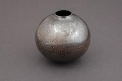 Norbert Peshlakai Miniature Silver Jar