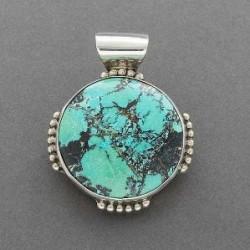 Turquoise Pendant by Martha Jackson