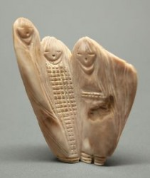 Stewart Quandelacy Corn Maiden Carving