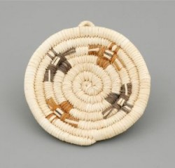 Miniature Hopi Plaque Basket