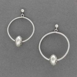 Historic Navajo Hoop and Ball earrings