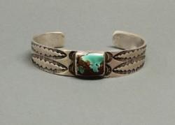 Single Stone Ingot Bracelet