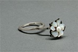 Charlyn Reano Ring of Suspended Flower