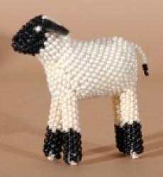 Larissa Gasper Beaded Easter Lamb