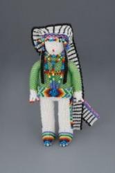Zuni Beaded Figure of Chief