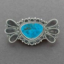 Morenci Turquoise Pin by Temair Shorty