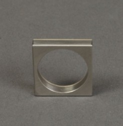 Pat Pruit Ring of Stainless Steel