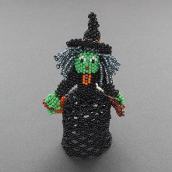 Zuni Beaded Witch by Lorena Laahty