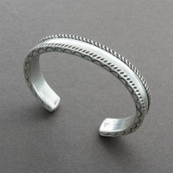 Perry Shorty Bracelet of Coin Silver With Stamping