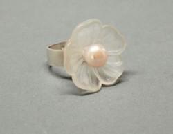 Charlyn Reano Flower Petal Ring