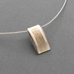 Charlyn Reano Necklace of Modern Mixed Metals
