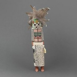 Masau'u Kachina by Hopi Artist Patrick Joshevama