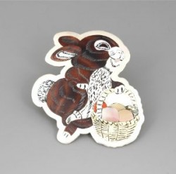 Dale Edaakie Pin of Brown Bunny